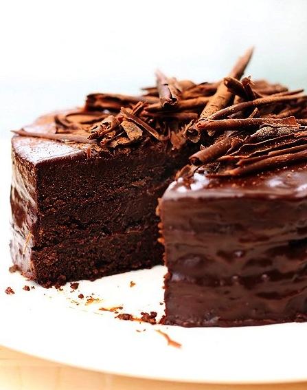 Chocolate Cake Decorating Ingredients : Ultimate Chocolate Cake dessertcrisis